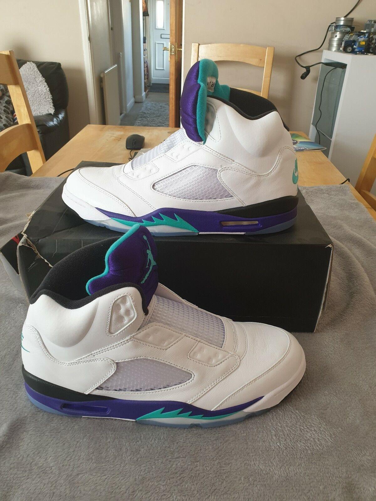 Nike Air Jordan 5 Retro NRG Fresh Prince UK Size 12