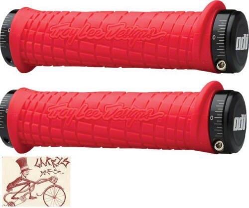 ODI TROY LEE Lock-on Rouge BMX-Vélo De Montagne Vélo Poignées