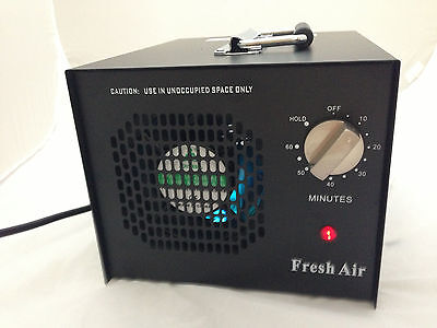 New Commercial Ozone Generator Air Purifier with 3 plate  and UV STERILIZER NEW