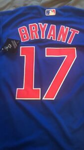 Kris-Bryant-Chicago-Cubs-Jersey-17-Majestic-Blue-Mens-Medium