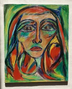 MARIE-LOUISE-GARNAVAULT-1911-2012-original-oil-painting-Marc-Chagall-interest