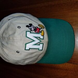 b80ddf29fe8 Image is loading Mickey-Mouse-Hat-Strapback-Walt-Disney-World-Green-