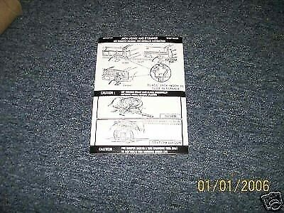 1972 CHRYSLER NEW YORKER NEWPORT BROUGHAM JACK DECAL