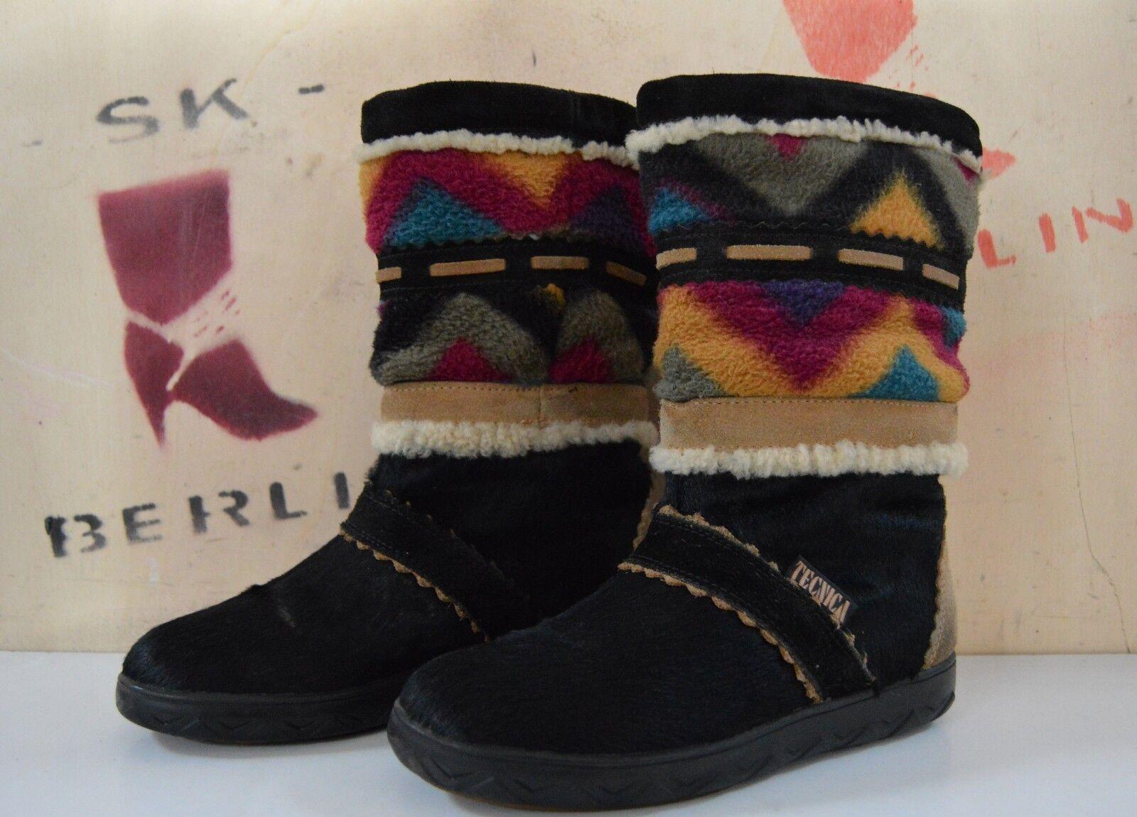 Tecnica made botas in italy chimayo señora botas made True vintage botas fur invierno Snow e8c67e
