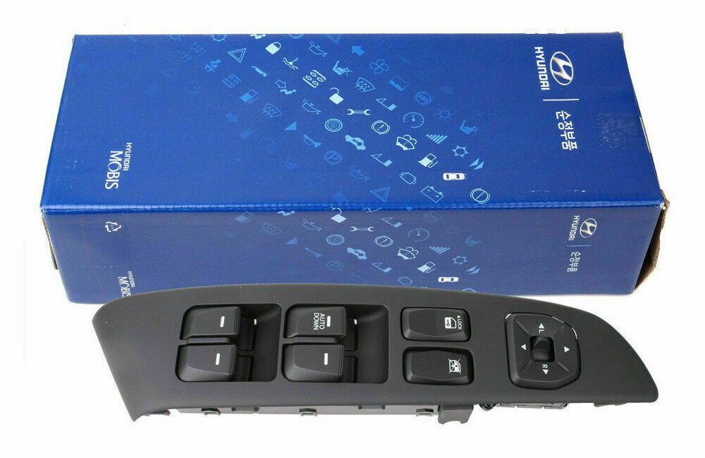 Genuine Hyundai 93580-25005-PK Power Window Sub-Switch Assembly