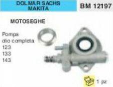 POMPA OLIO MOTOSEGA DOLMAR SACHS MAKITA 123 133 143 COMPLETA (no echo stihl)