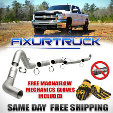 """Magnaflow 5"""" Down Pipe Back Exhaust For 01-10 GMC Chevy Duramax 6.6L FREE GLOVES"""
