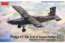 RODEN 443 1/48 Pilatus PC-6-B2/H-2 Turbo Porter (Fairchild UV-20A Chricahua)