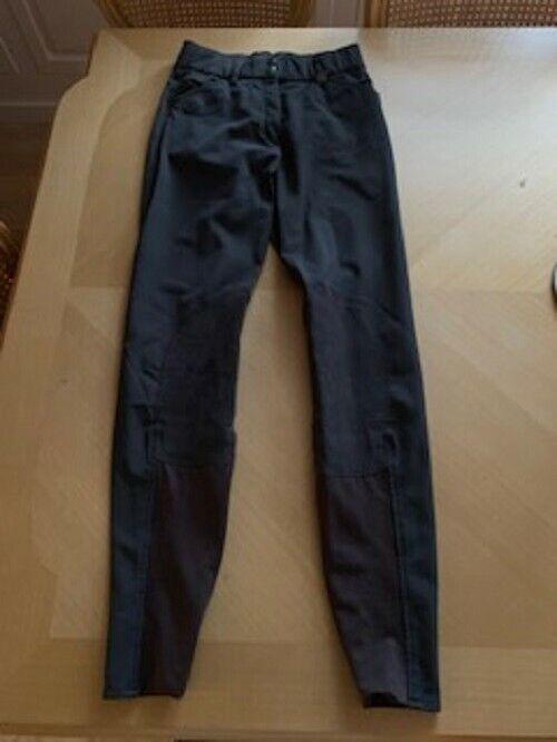 USATO Marronee romph Equitazione PantaloniTaglia 24 lungosolo una volta indossato