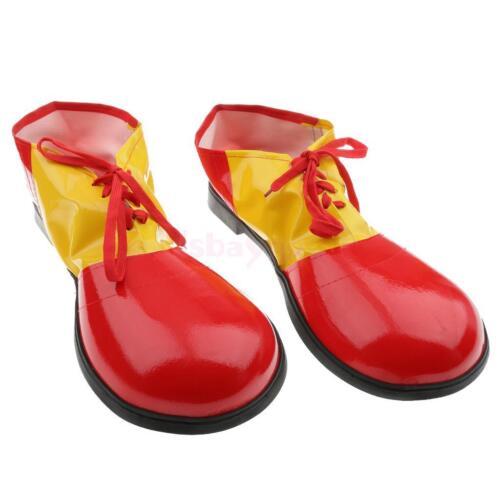 Vogue Children Clown Shoes Cover Fancy Dress Fun Circus Costume Accessory