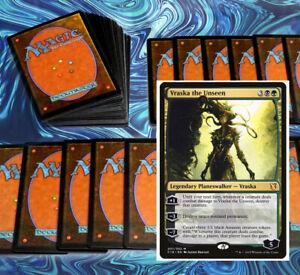 mtg-GREEN-BLACK-GOLGARI-DECK-Magic-the-Gathering-rares-60-cards-vraska-varolz