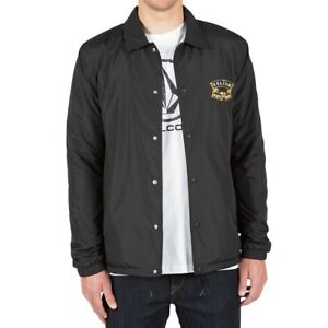 Volcom-Antihero-Coach-Jacket-BLK-schwarz-black-NEUWARE-portofrei-S-M-L-XL
