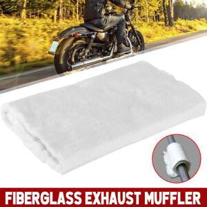 Universal-Motorcycle-Fiberglass-Exhaust-Muffler-Silencer-Fiber-Packing-Cloth-Mat