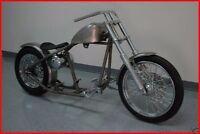 Fatboy Heritage Deluxe Rigid Frame Bobber Chopper Rolling Chassis Harley Roller
