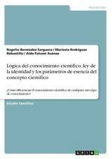 Logica Del Conocimiento Cientifico, Ley de la Identidad y Los Parametros de...
