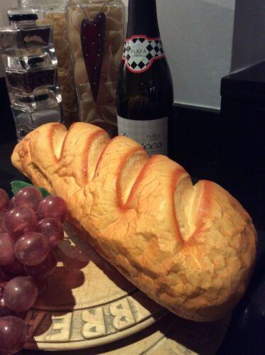Réaliste pain Français Pain ~ imitation Bakery Display ~ Faux Nourriture ~ Home//shop Prop
