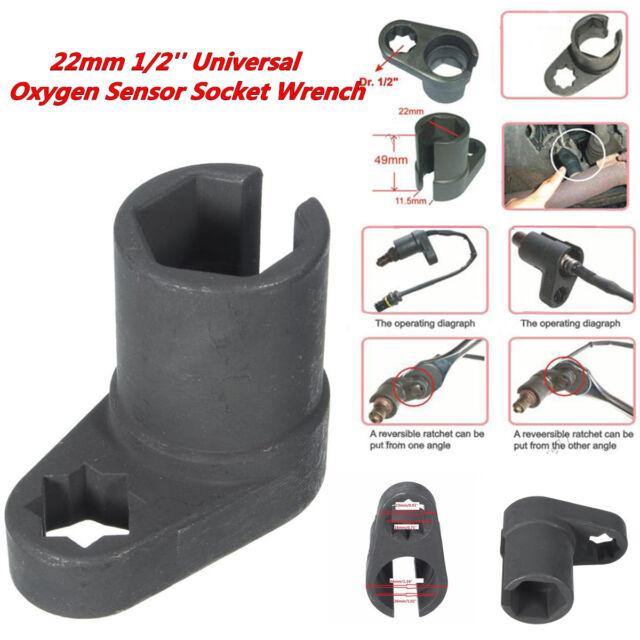 "7//8/"" Oxygène Capteur O2 Fiat Flare Nut Removal Tool Lambda Vacuum Switch 22 mm"