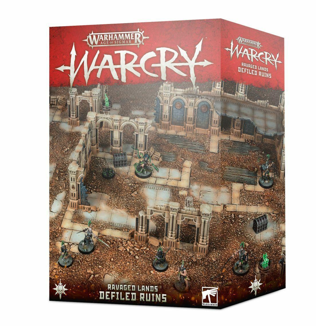 Warhammer Edad Of Sigmar Warcry Ravaged Tierras Defiled Ruins Juegosworkshop