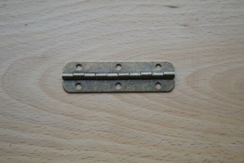 1 pair-with screws PROKRAFT PKR ABH1 BOX HINGE ANTIQUE BRONZE