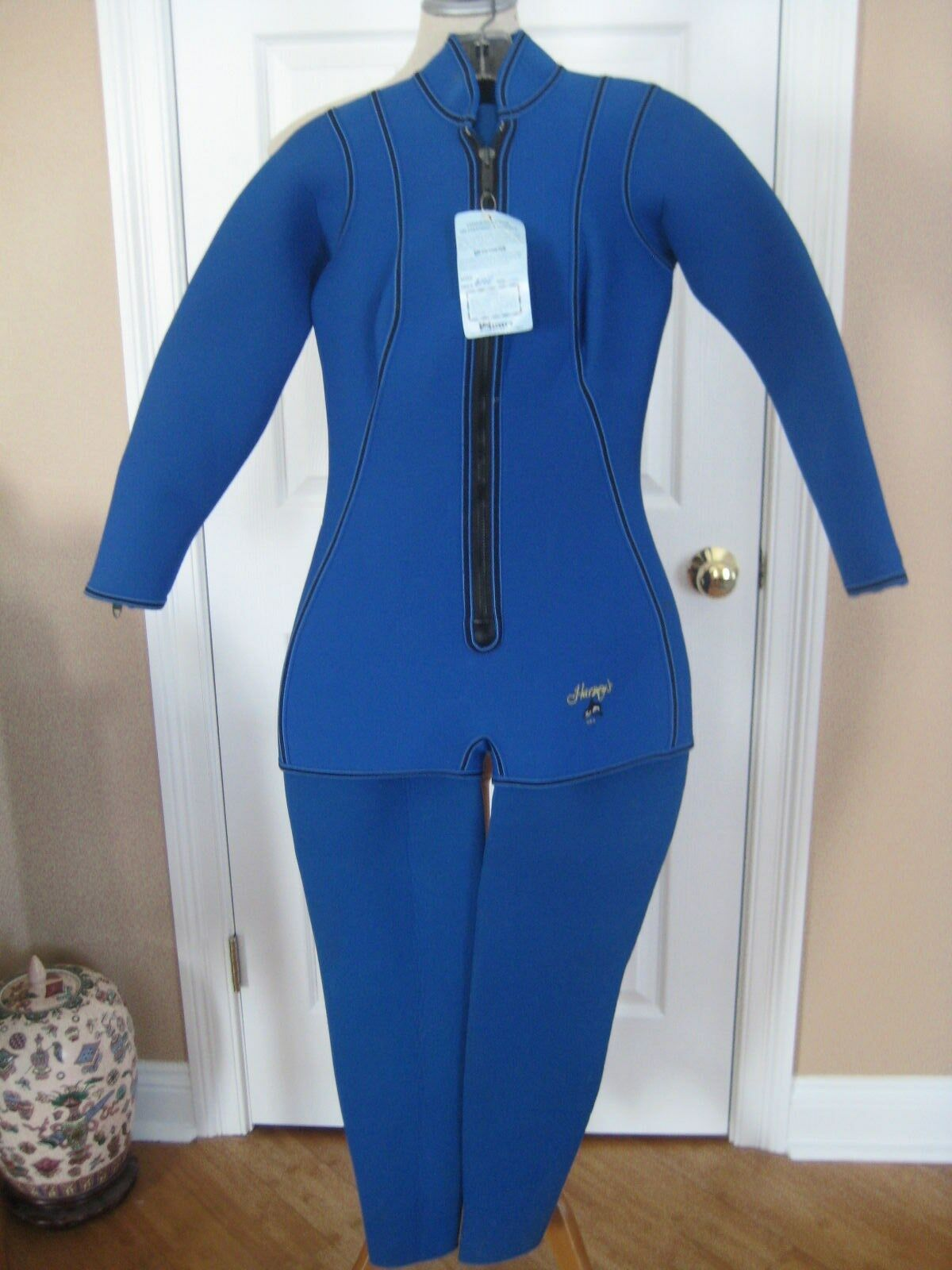 NWTS Vtg Harvey's Wetsuit Adult L Women Neoprene  2 Pc Scuba Diving Large Lg New  high quality genuine