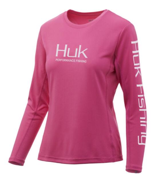 Huk Ladies Icon X  I.C.E Technology Long Sleeve Shirt