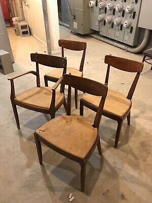 Admirable Set Mid Century Kipp Stewart Stuart Macdougall Drexel Declaration Dining Chairs Ebay Dailytribune Chair Design For Home Dailytribuneorg