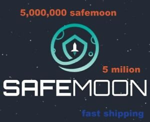 5,000,000 SAFEMOON coin Crypto Currency 5 Million SAFE MOON mining contract