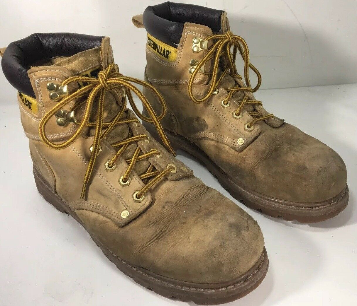 Men's CATepillar  P70042  6 Inch Soft   toe Boots color Wheat   Size 11.5 Wide