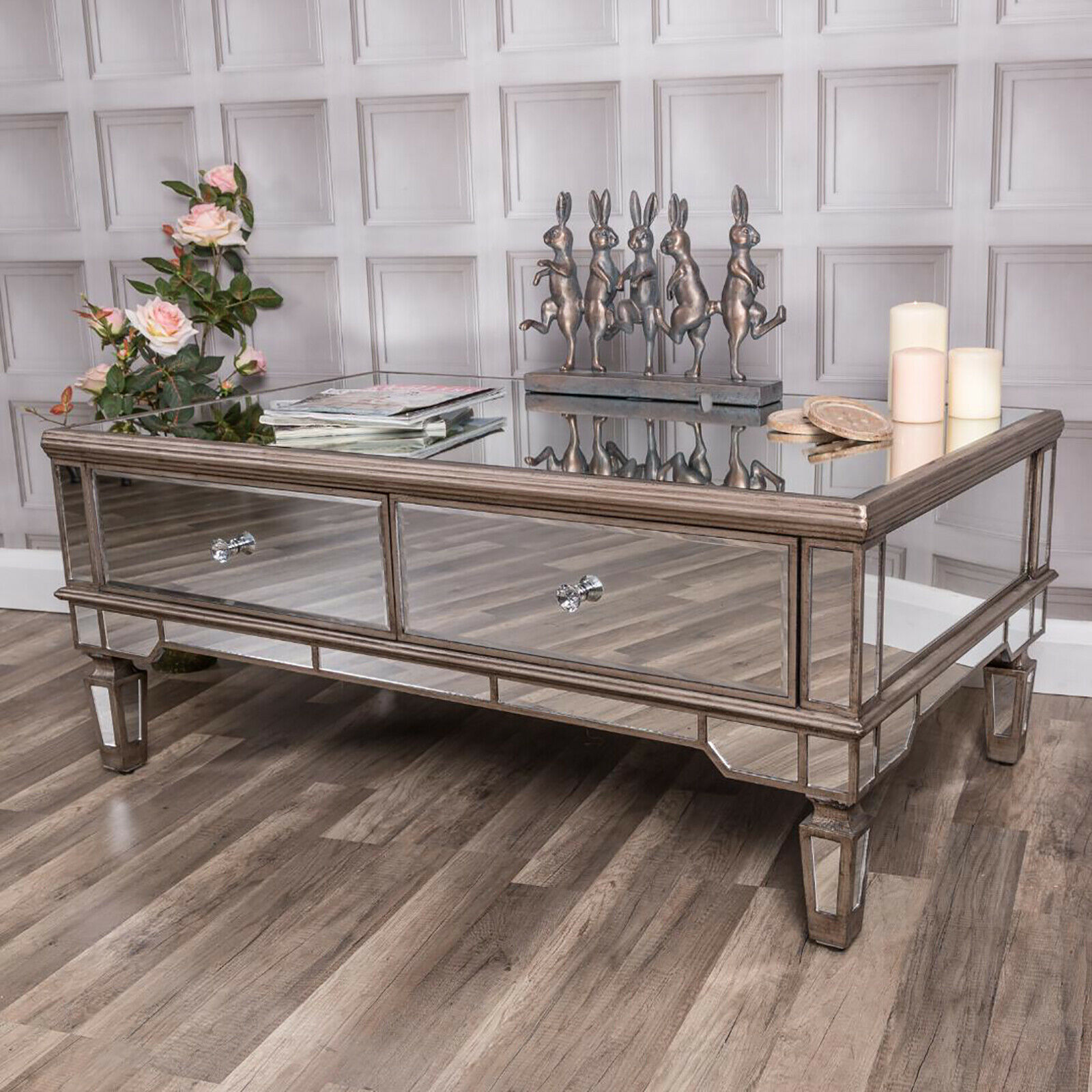 Mirrored Coffee Table 4