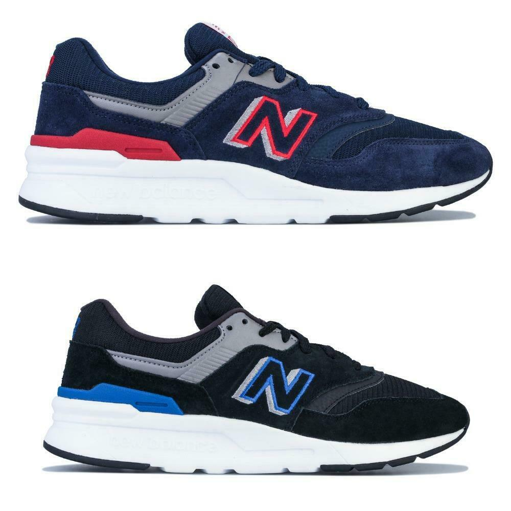 Men's New Balance 997H Lace up Cushioned Trainers in Navy Blue and Black WAS £74.99 NOW £31.99 @ eBay