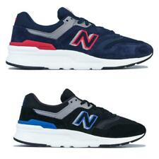 Mens New Balance 997H Lace up Cushioned Trainers in Navy Blue and Black