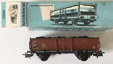 MäRKLIN 4664 4665 Vagoni merci HO Come Nuovi nella scatola originale