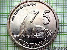 GALAPAGOS ISLANDS 2008 5 CENTAVOS, SEA LON, NON-CIRCULATING ISSUE