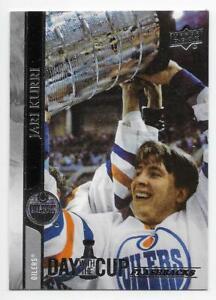 1991-92 Upper Deck # 24 NM//MT Hockey Card Canada Cup Jari Kurri