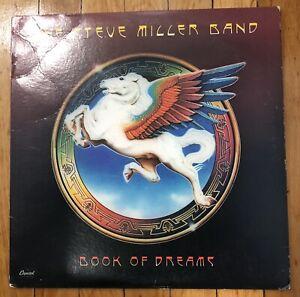 The Steve Miller Band- Book of Dreams- 1977 Stereo Vinyl LP- Capitol