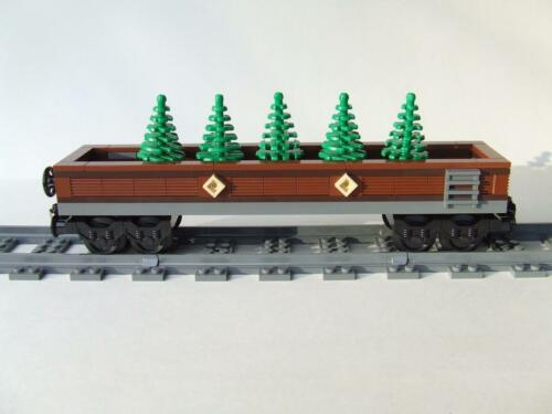 Emerald Night 10194 Set Custom Train Car Built w// New Lego Bricks * New