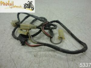 Details about 88 Kawasaki Voyager ZG1200 1200 TRUNK WIRING HARNESS on