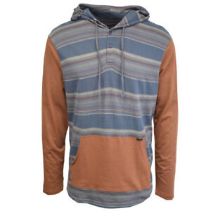 O-039-Neill-Men-039-s-Aztec-Print-Light-Weight-L-S-Pull-Over-Hoodie