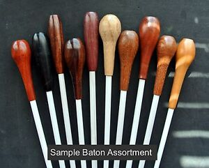 Music-Conductor-039-s-Baton-Assortment-Ten-different-with-Gift-Boxes