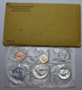 1963 Proof Set 5 COINS PHILADELPHIA MINT WITH OGP