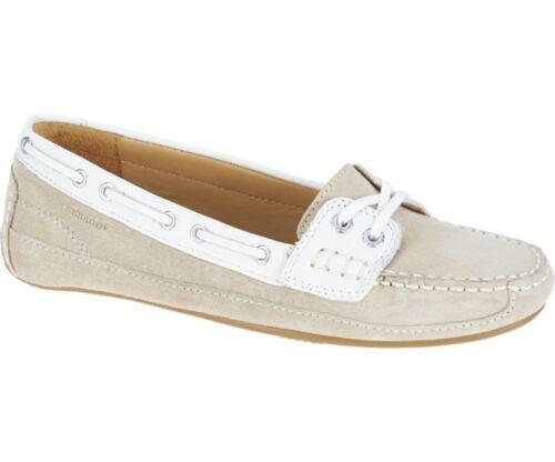 B61061cl Boat Deck Suede white New Taupe Women's Shoe Bala Sebago Ov8Bq
