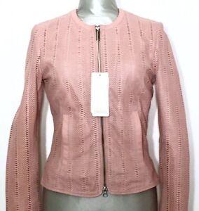 BOMBOOGIE-JW-RABY-Damen-Lederjacke-Jacke-Leatherjacket-Jacket-rosa-NEU-ETIKETT