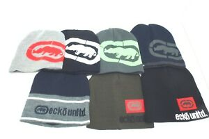 87347a405d9 ECKO Men s Beanie Winter Hat  Various Color Skater Cap  One SIze Fit ...