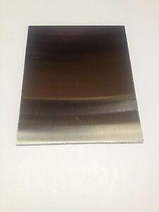 """.125/"""" 11 gauge 1//8/"""" x 1/"""" x 11/"""" Aluminum Plate 5052 Aluminum"""