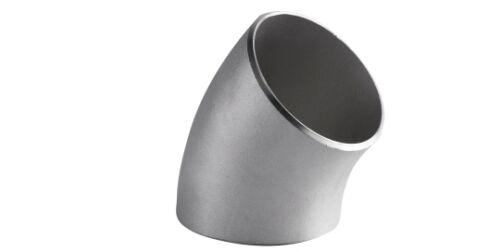 """2/"""" Stainless Steel 304 45º Elbow Short Radius Sch.40"""