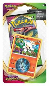 PRE-ORDER Vivid Voltage Checklane Blister (Scorbunny) Pokemon TCG Sword & Shield