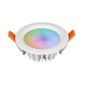 MI-LIGHT-PLAFONIERA-DA-INCASSO-LED-6W-500LM-RGB-CCT-IP54-WIFI-FUT063-FORO-100MM