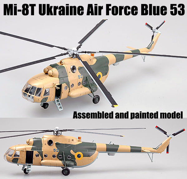 Blue 53 Ukraine Air Force Easy Model 37043-1//72 Mi-8T Neu