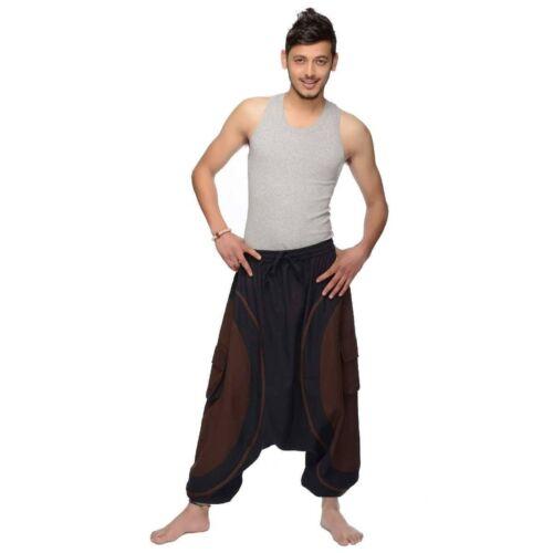 Haremshose Pumphose Aladinhose Pluderhose Yoga Goa Sarouel Baggy Freizeit Soni