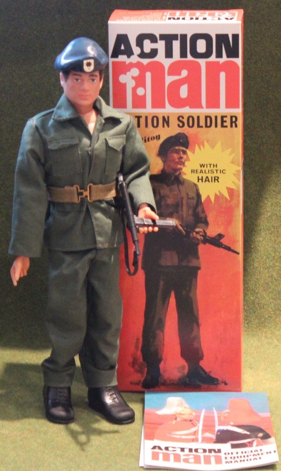 precios al por mayor Vintage Acción Man 40th aniversario Flocado Cabello soldado soldado soldado duro Manos En Caja  Ahorre 60% de descuento y envío rápido a todo el mundo.